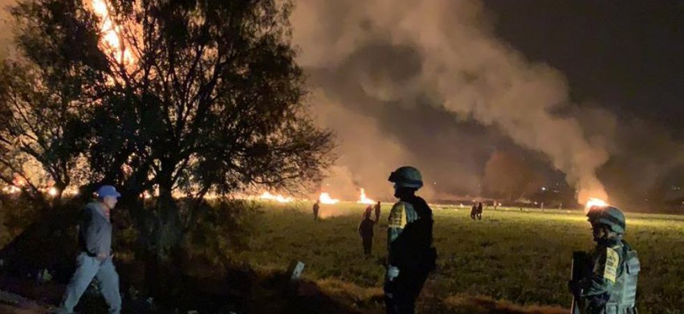 20 dead, 54 injured after leaking pipeline triggers massive blaze in Mexico