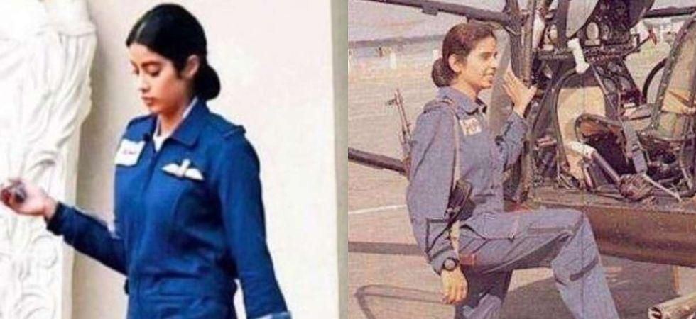 Janhvi Kapoor To Learn Flying For Iaf Pilot Gunjan Saxena Biopic News Nation English