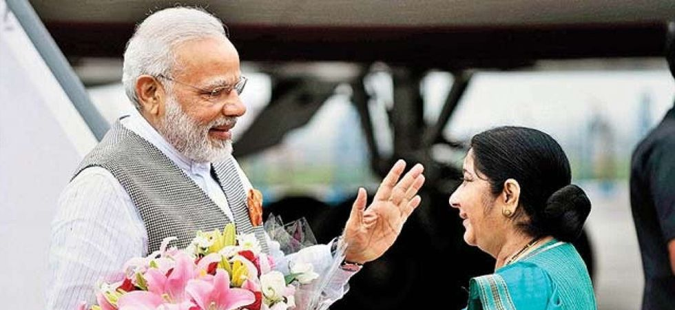 Sushma Swaraj not to take oath today, opts out from Narendra Modi Cabinet