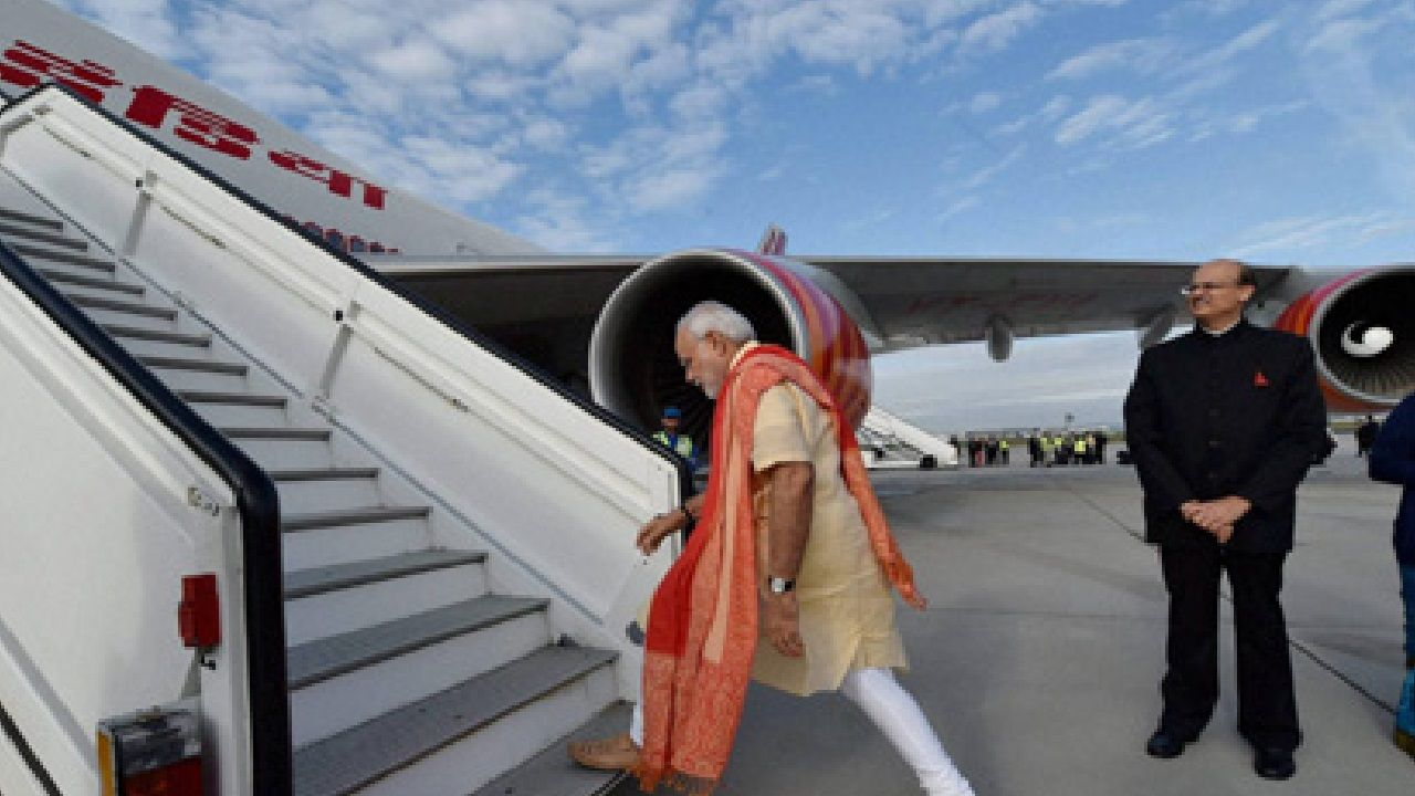 PM Modi's Special Aircraft 'Air India One' With Missile