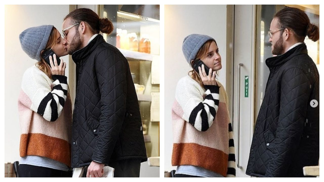 Emma Watson May Not Be Dating Tom Felton After All Spotted Kissing Mystery Man News Nation English