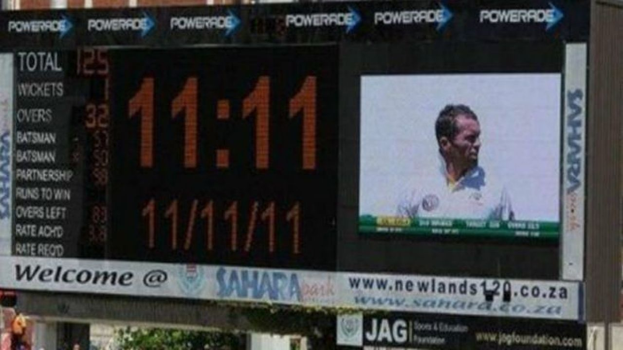 On 11/11/11, South Africa Needed 111 To Win At 11:11 AM Vs ...