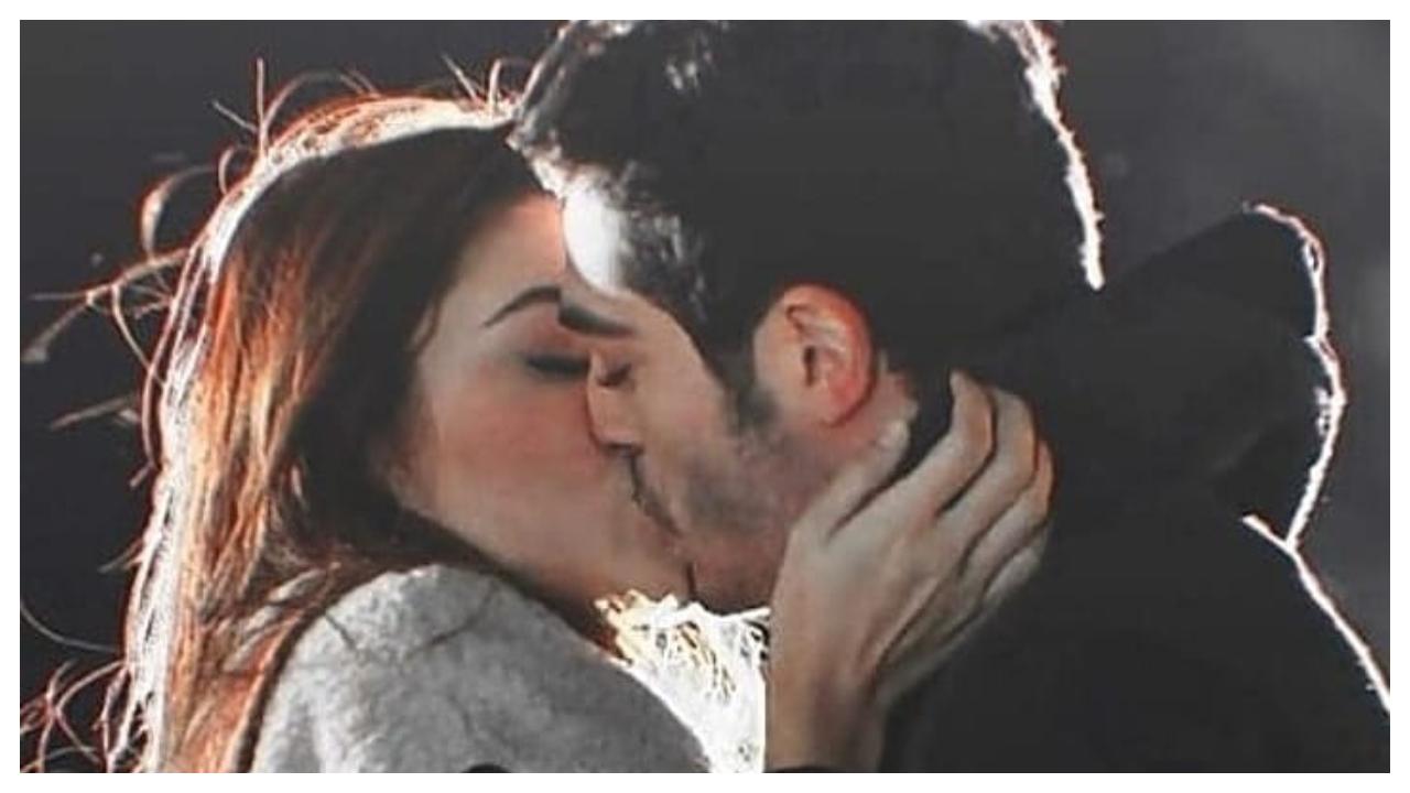 Lip lock kissing