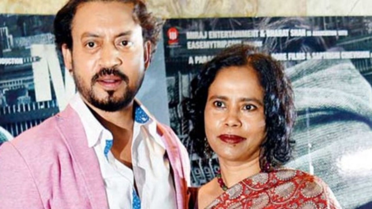 Irrfan's wife Sutapa pens an emotional note a month after his demise