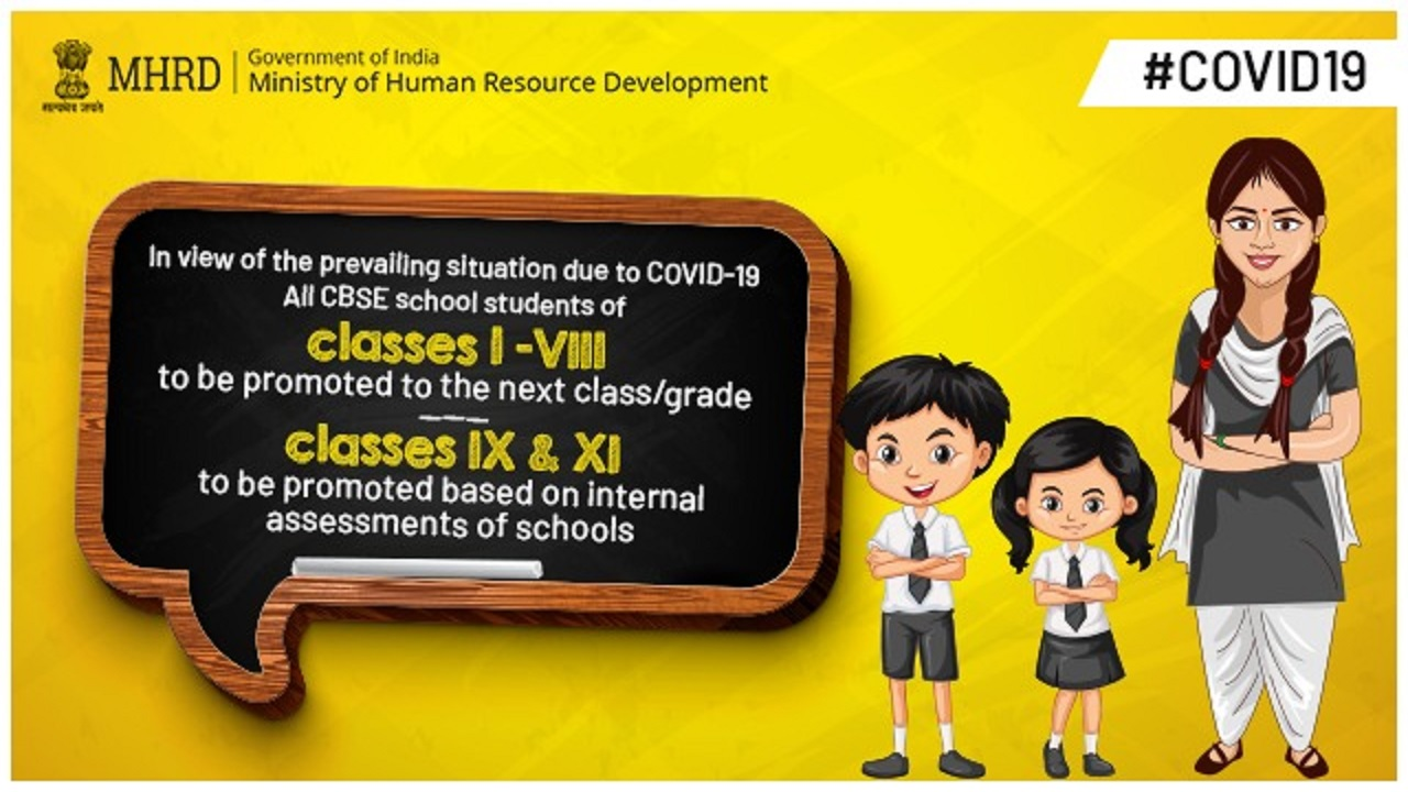 Prepared to conduct pending class 10, 12 board exams at first possibility: HRD