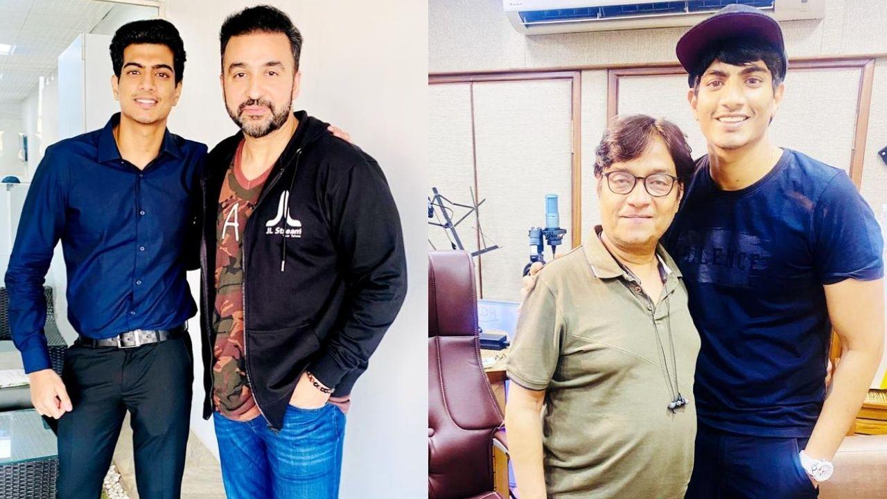 Raj Kundra launches their OTT platform 'Bollyfame' with 'RIKSHAW'